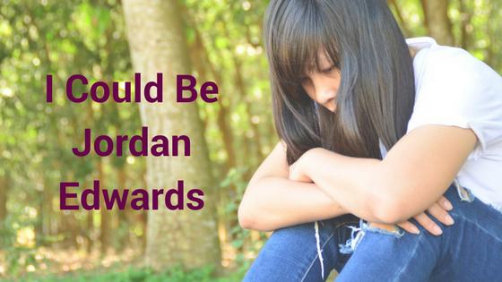 I could be Jordan Edwards