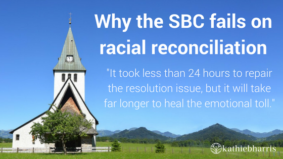 Why the SBC fails on racial reconciliation