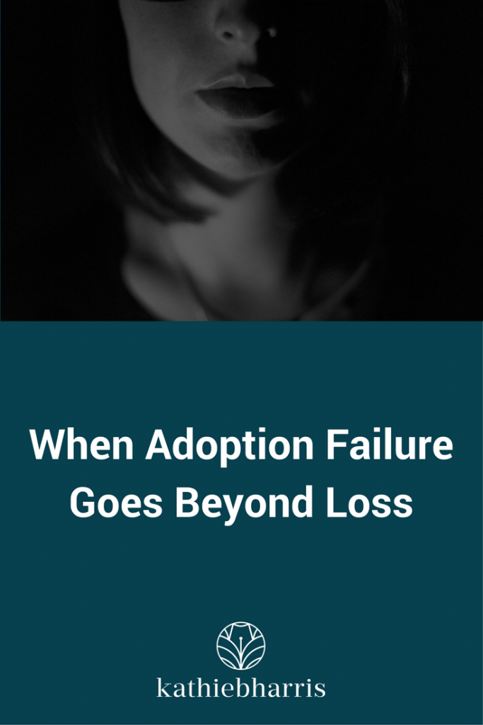 When adoption failure goes beyond loss