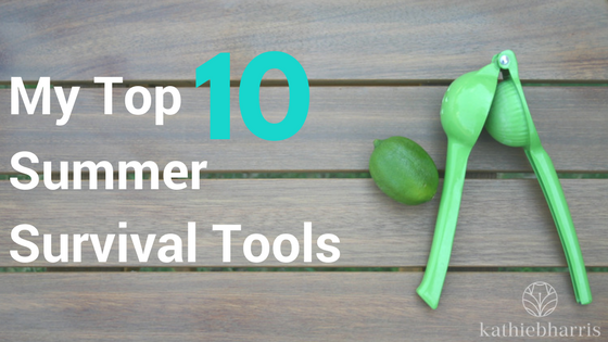 My Top 10 Summer Survival Tools