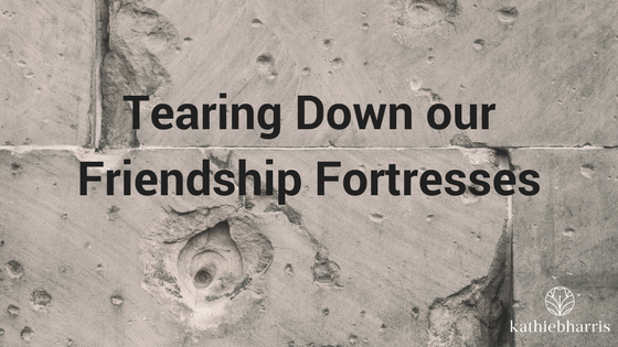 Tearing Down our Friendship Fortresses