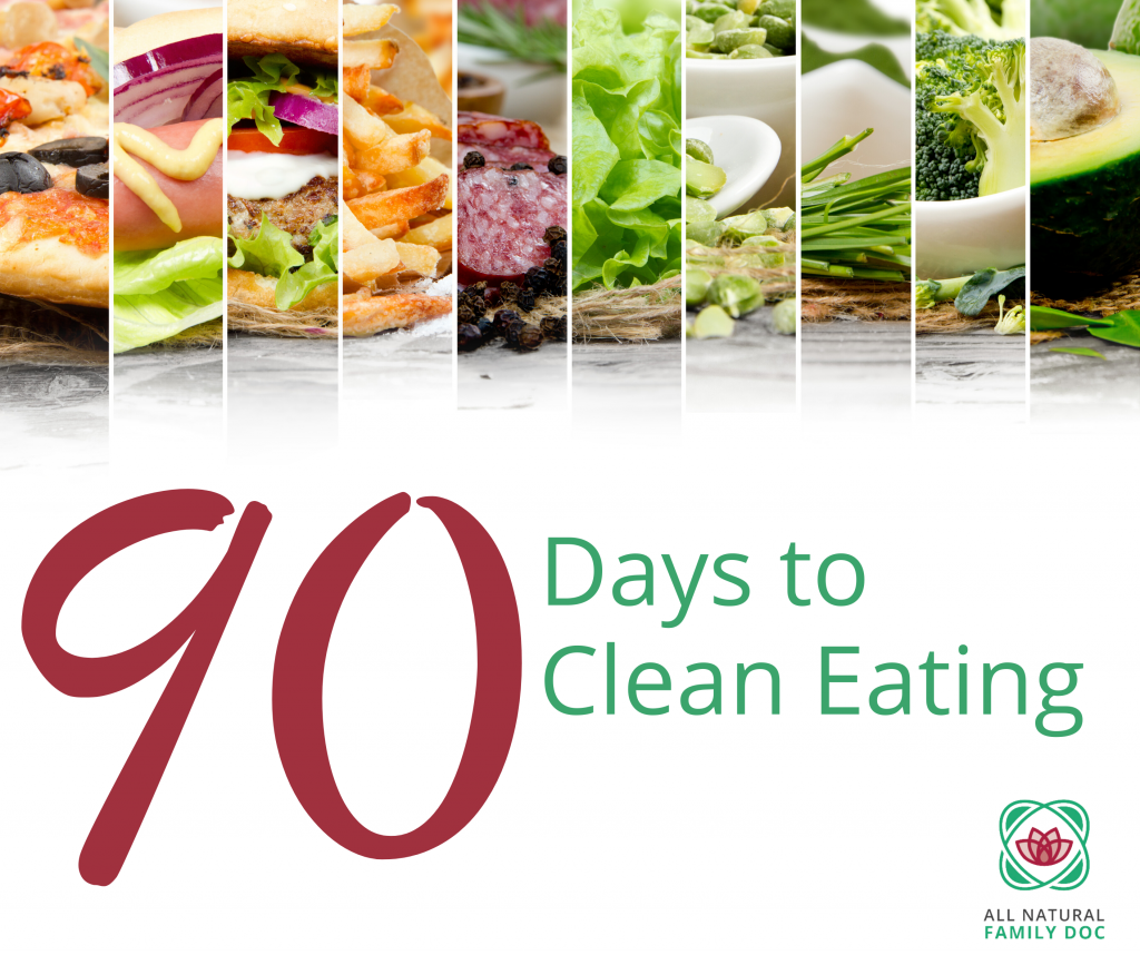 90 Days to Clean Eating Course
